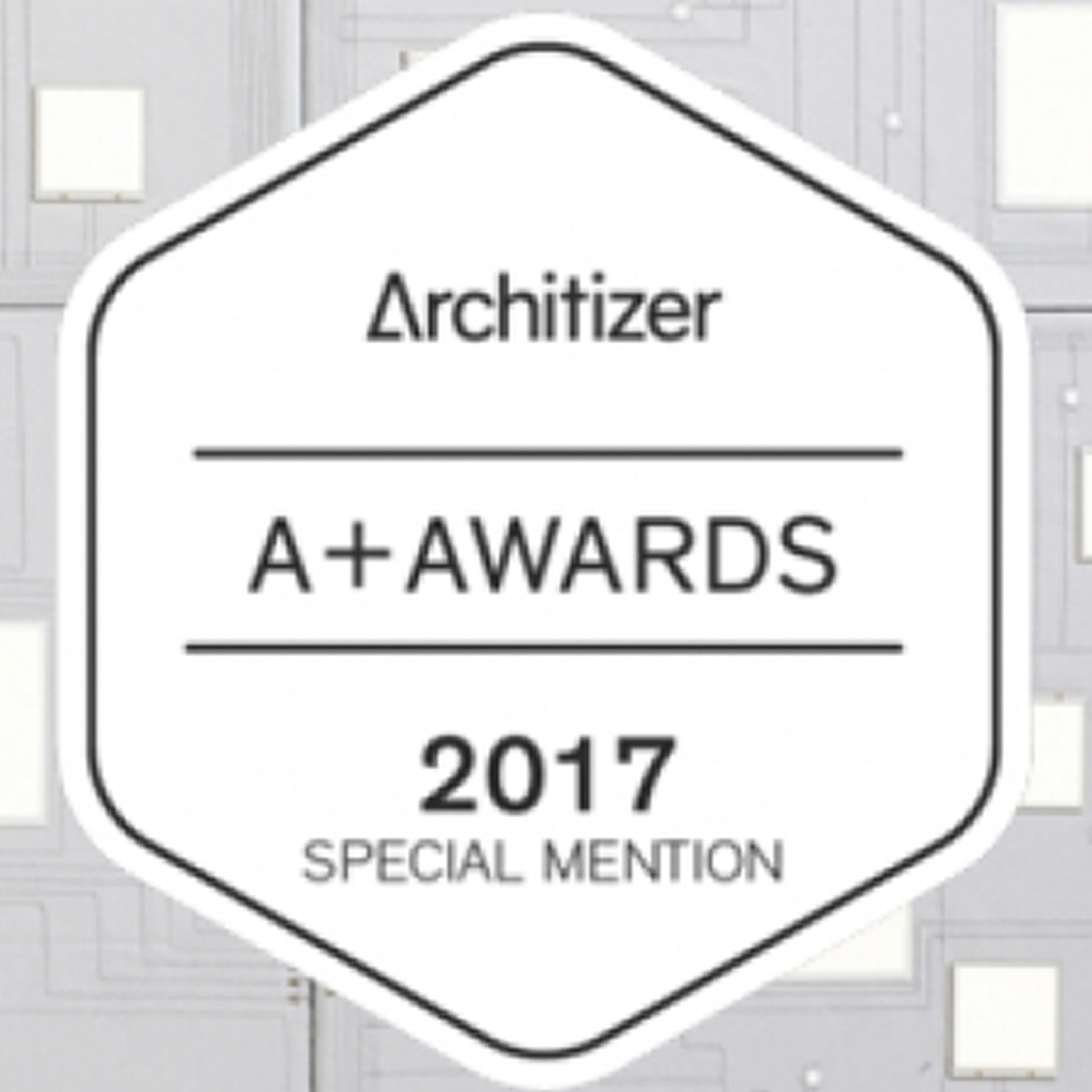 Diffus wins Architizer A+Awards Special Mention